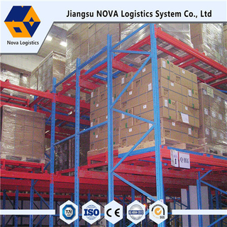 Heavy-Duty Steel Push Back Racking Dari Produsen Cina