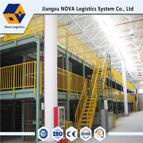 Mezzanine Racking Heavy Duty Dari Industri China